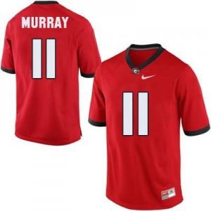 Nike Aaron Murray Georgia Bulldogs No.11 - Red Football Jersey