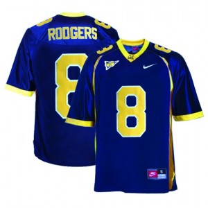 Nike Aaron Rodgers Cal Bears No.8 - Blue Football Jersey