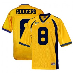Nike Aaron Rodgers Cal Bears No.8 - Gold Football Jersey