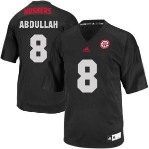 Adida Ameer Abdullah Nebraska Cornhuskers No.8 - Black Football Jersey