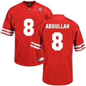Adida Ameer Abdullah Nebraska Cornhuskers No.8 Youth - Red Football Jersey