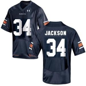 Under Armour Bo Jackson Auburn Tigers No.34 Youth - Navy Blue Football Jersey