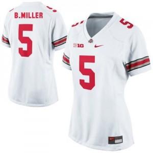 Nike Braxton Miller Ohio State No.5 Women - White Football Jersey