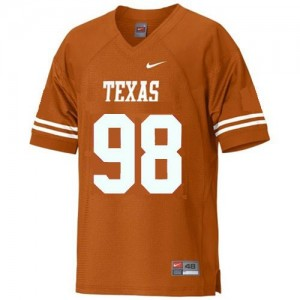Nike Brian Orakpo Texas Longhorns No.98 - Orange Football Jersey