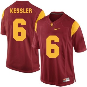 Nike Cody Kessler USC Trojans No.6 - Red Football Jersey
