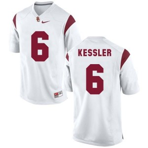 Nike Cody Kessler USC Trojans No.6 Youth - White Football Jersey