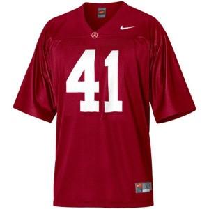 Nike Courtney Upshaw Alabama Crimson Tide No.41 - Crimson Red Football Jersey