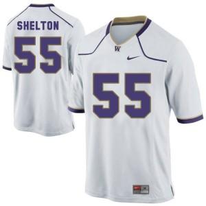 Nike Danny Shelton Washington Huskies No.55 - White Football Jersey