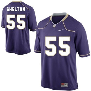 Nike Danny Shelton Washington Huskies No.55 Youth - Purple Football Jersey