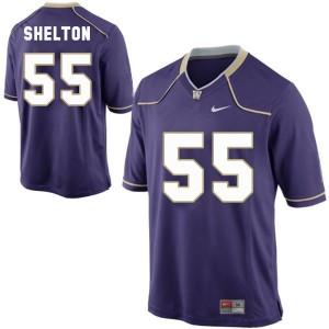 Nike Danny Shelton Washington Huskies No.55 Youth - Purple Football Jersey
