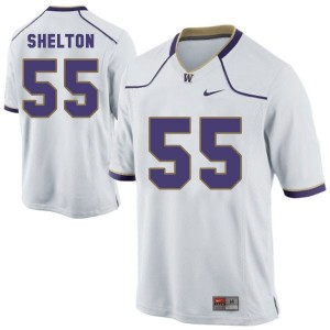 Nike Danny Shelton Washington Huskies No.55 Youth - White Football Jersey