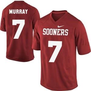 Nike DeMarco Murray Oklahoma Sooners No.7 Youth - Crimson Red Football Jersey