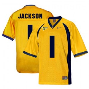 Nike DeSean Jackson Cal Bears No.1 - Gold Football Jersey