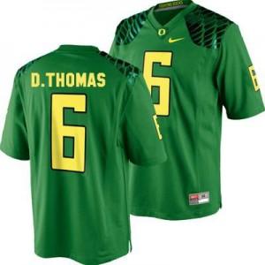 Nike De'Anthony Thomas Oregon Ducks No.6 Youth - Apple Green Football Jersey