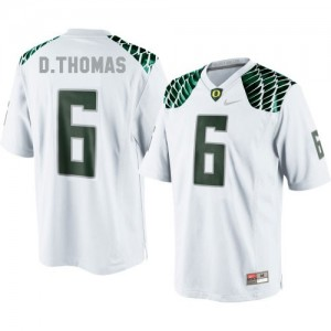 Nike De'Anthony Thomas Oregon Ducks No.6 Youth - White Football Jersey