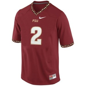 Nike Deion Sanders FSU No.2 - Red Football Jersey