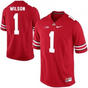 Nike Dontre Wilson Ohio State Buckeyes No.1 Youth - Scarlet Red Football Jersey
