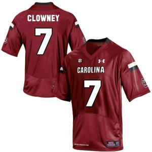 Under Armour Jadeveon Clowney South Carolina Gamecocks No.7 Youth - Red Football Jersey