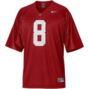Nike Julio Jones Alabama Crimson Tide No.8 Youth - Crimson Red Football Jersey