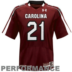 Under Armour Marcus Lattimore South Carolina Gamecocks No.21 - Red Football Jersey