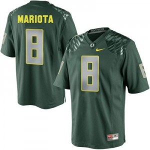 Nike Marcus Mariota Oregon Ducks No.8 Youth - Green Football Jersey