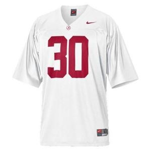 Nike Alabama Crimson Tide Dont'a Hightower No.30 White Youth Football Jersey