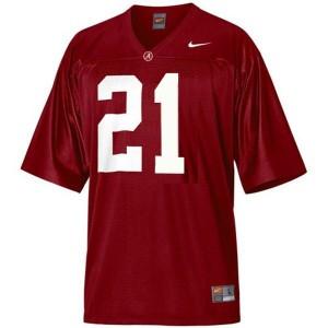 Nike Alabama Crimson Tide Dre Kirkpatrick No.21 Red Youth Football Jersey