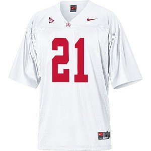 Nike Alabama Crimson Tide Dre Kirkpatrick No.21 White Football Jersey