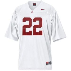 Nike Alabama Crimson Tide Mark Ingram No.22 White Football Jersey