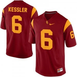 Nike Cody Kessler USC Trojans No.6 College - Red Football Jersey