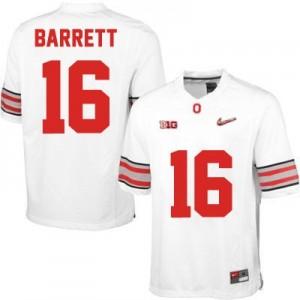 Nike J.T. Barrett OSU No.16 Diamond Quest Playoff - White Football Jersey