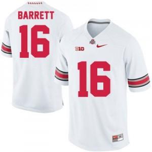 Nike J.T. Barrett Ohio State Buckeyes No.16 - White Football Jersey