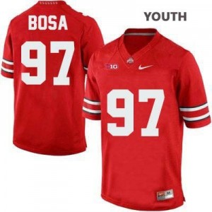 Nike Joey Bosa Ohio State Buckeyes No.97 - Scarlet - Youth Football Jersey