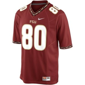 Nike Rashad Greene FSU No.80 - Garnet Red Football Jersey