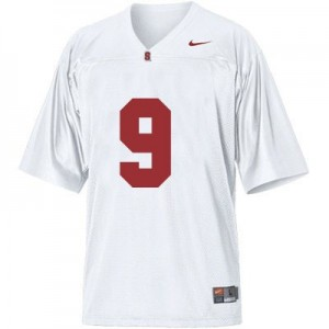 Nike Richard Sherman Stanford Cardinal No.9 Youth - White Football Jersey