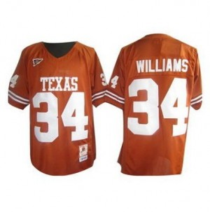 Nike Ricky Williams Texas Longhorns No.34 - Orange Football Jersey