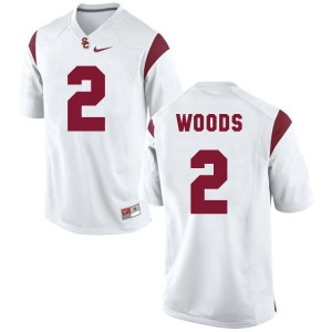 Nike Robert Woods USC Trojans No.2 - White Football Jersey