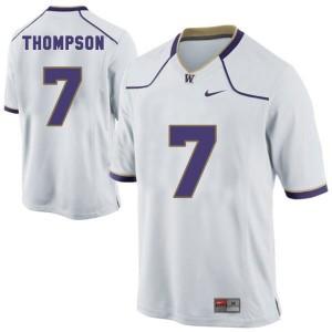 Nike Shaq Thompson Washington Huskies No.7 - White Football Jersey