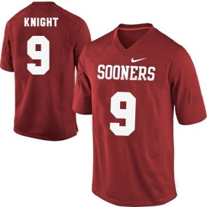Nike Trevor Knight Oklahoma Sooners No.9 - Red Football Jersey
