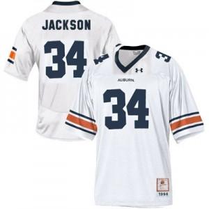 Under Armour Bo Jackson Auburn Tigers No.34 Youth - White Football Jersey