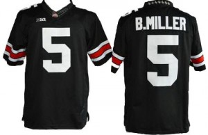 Nike Braxton Miller Ohio State Buckeyes No.5 Youth - Black Football Jersey