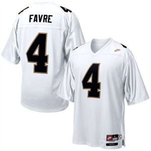 Nike Brett Favre Southern Mississippi Golden Eagles No.4 - White Football Jersey