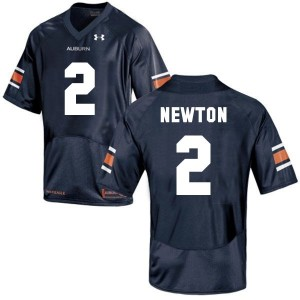Under Armour Cam Newton Auburn Tigers No.2 Youth - Navy Blue Football Jersey