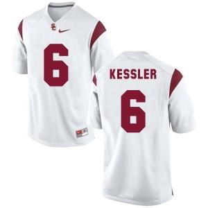 Nike Cody Kessler USC Trojans No.6 - White Football Jersey