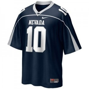 Nike Colin Kaepernick Nevada Wolf Pack No.10 - Blue Football Jersey