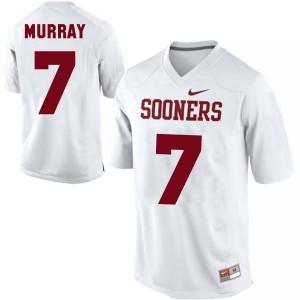 Nike DeMarco Murray Oklahoma Sooners No.7 - White Football Jersey