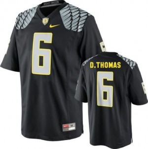 Nike De'Anthony Thomas Oregon Ducks No.6 - Black Football Jersey