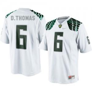 Nike De'Anthony Thomas Oregon Ducks No.6 - White Football Jersey