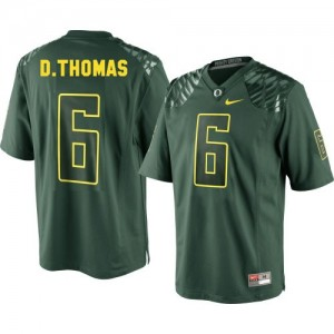 Nike De'Anthony Thomas Oregon Ducks No.6 Youth - Green Football Jersey