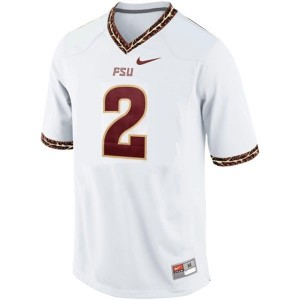 Nike Deion Sanders FSU No.2 - White Football Jersey